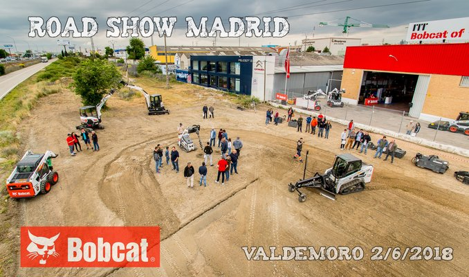 Road Show Madrid 2018 ITT BobcatOf