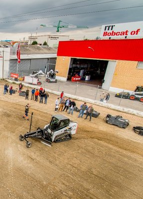 Bobcat Of ITT en el Demo Day de Bobcat en Madrid